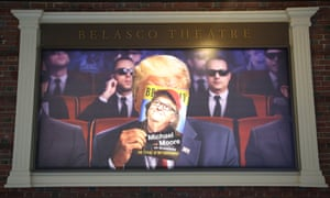 A scene from Michael Moore's The Terms of My Surrender.