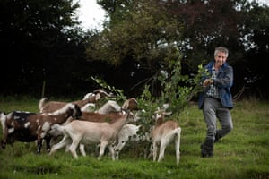 University lecturer and goat farmer Mick Dumper.