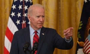 Joe Biden speaks about the infrastructure deal from the White House today.