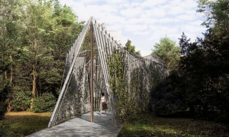 Norman Foster's woodland chapel for the Vatican at the Venice Architecture Biennale