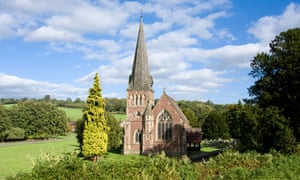St Mary the Virgin Church at Flaxley in the Forest of Dean near Cinderford, Gloucestershire