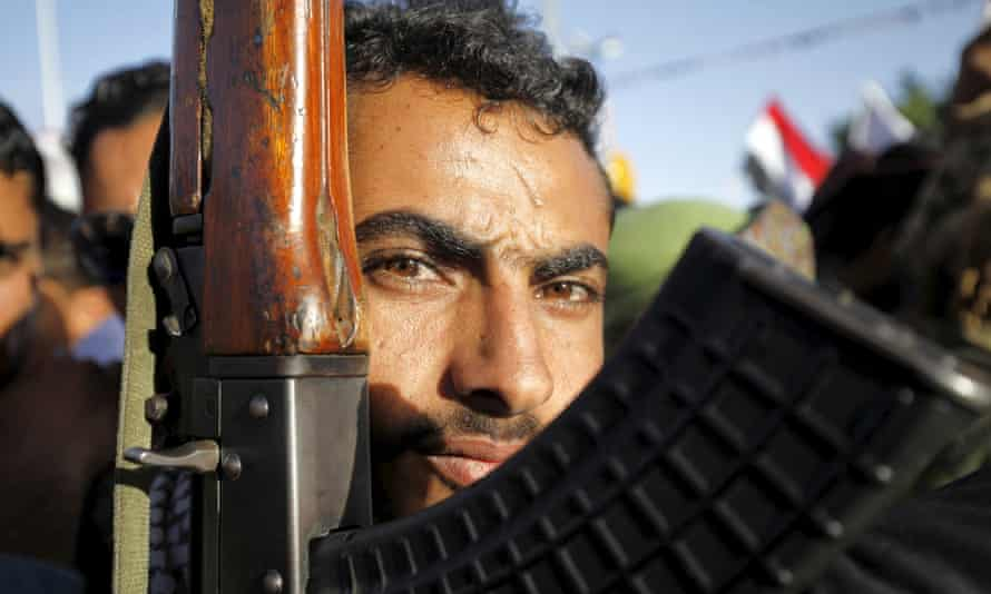 follower of the Houthi movement