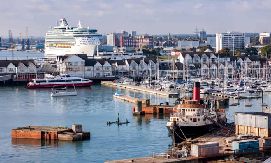 Environmentalists say the pollution created by giant cruise ships that dominate ports such as Southampton, outweigh their economic benefits.