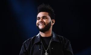 Abel Tesfaye, AKA the Weeknd.