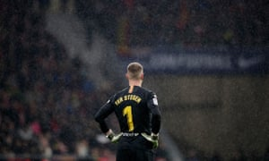 Marc-André ter Stegen needed to be at his best.
