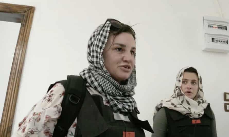 Jacqui Lambie and Marina were forced to take cover from suspected Isis gunmen during filming of reality TV series Go Back to Where You Came From Live.