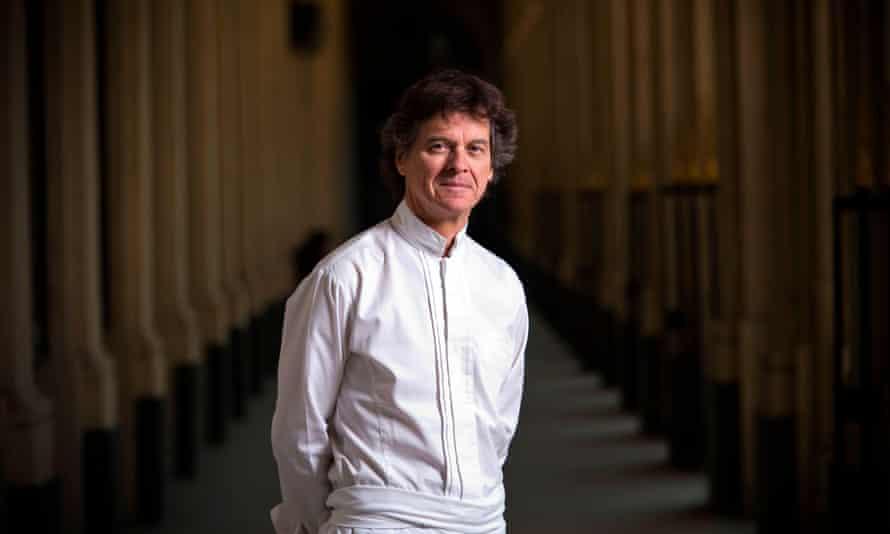 Michelin-starred French chef Guy Martin