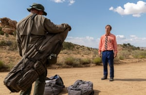 How will it end? … with Jonathan Banks in Better Call Saul.