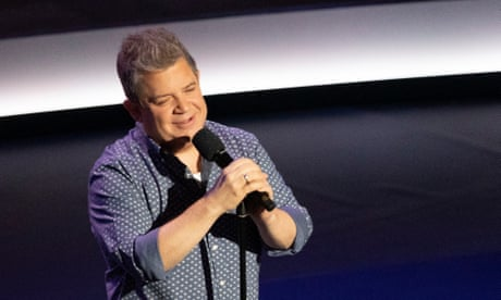 Patton Oswalt/Bob Rubin review – cuddly curmudgeon finds midlife bliss