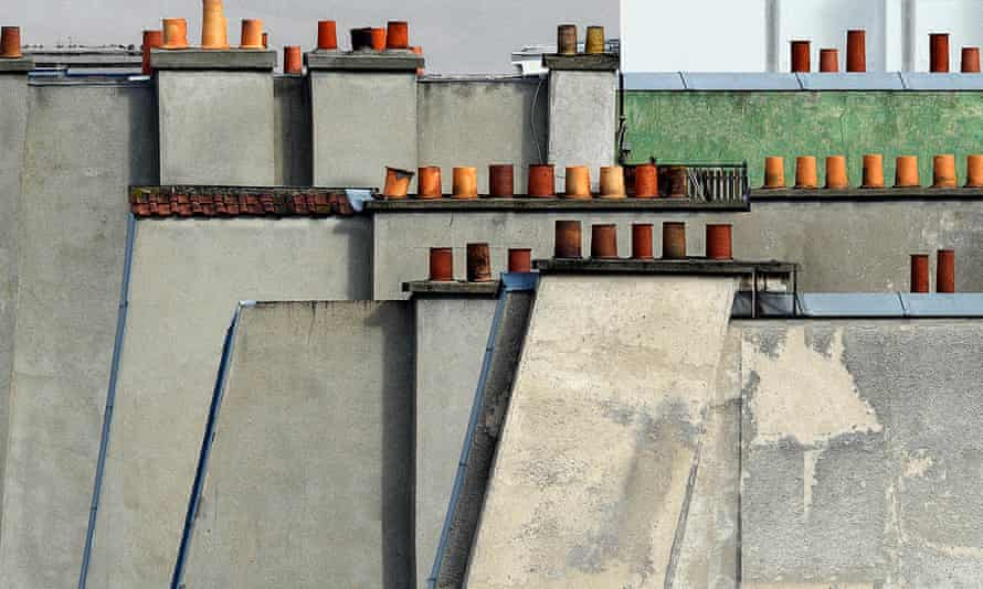 Paris Rooftops, 2014, by Michael Wolf.