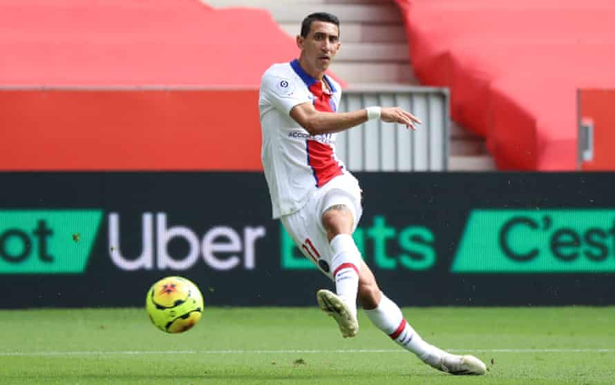 Ángel Di María was on the scoreline as PSG beat Nice 3-0 on Sunday.