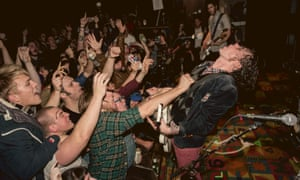 Beach Slang perform live at The First Unitarian Church in Philadelphia, December 2015.