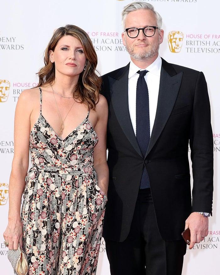 Sharon Horgan with Husband Jeremy Rainbird
