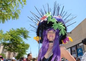 Sea urchin Rachel Roos from the Bronx