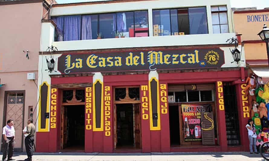 La Casa del Mezcal Bar in Oaxaca City, Mexico