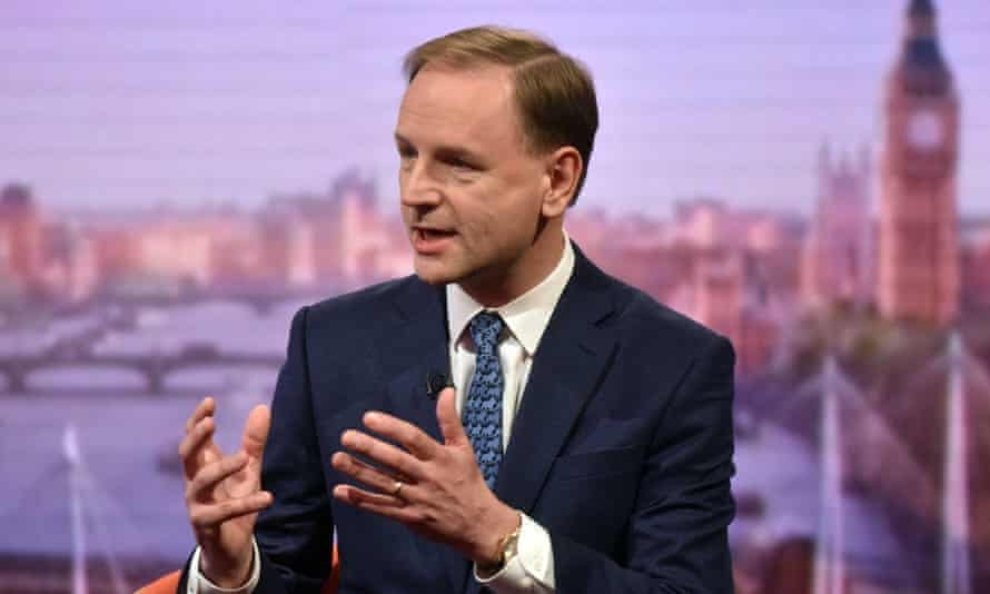 Simon Stevens told The Andrew Marr Show: 'When the British economy sneezes the NHS catches a cold.'