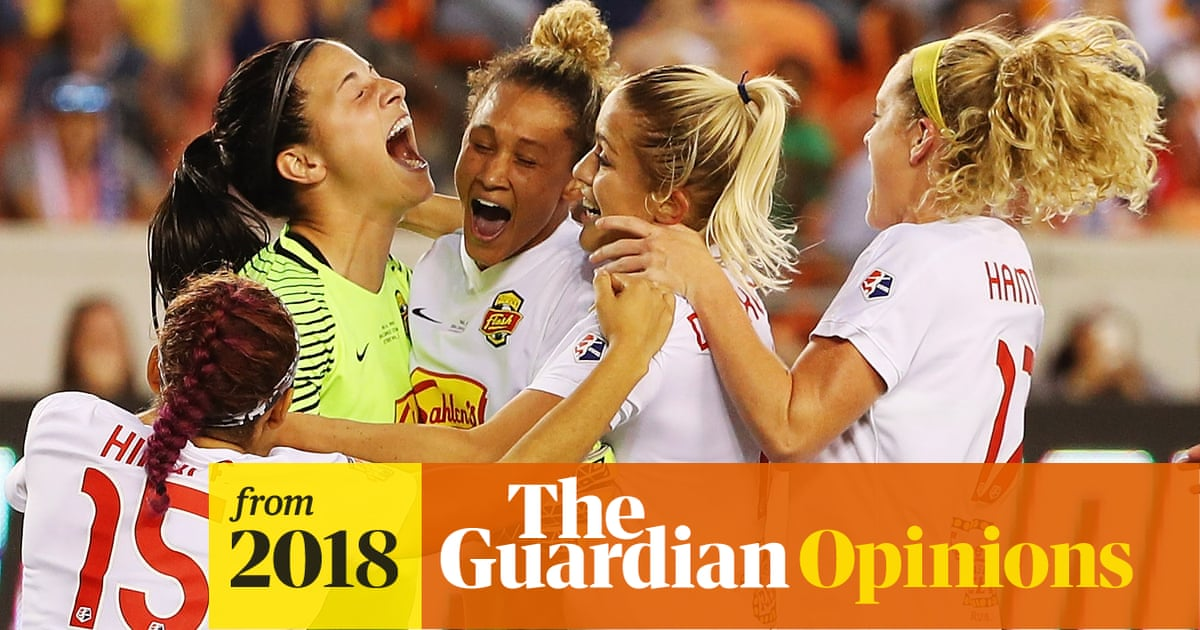 Should Female Athletes Sue The Networks For Equal Coverage Anya Alvarez Sport The Guardian