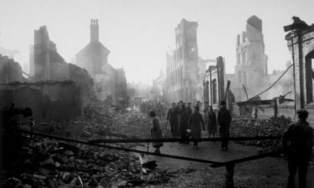 The morning after a German air raid on Coventry, which lost its entire city centre to one night of bombing.