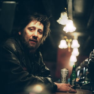 Shane MacGowan at the Mean Fiddler in Harlesden, north London, in 2000.