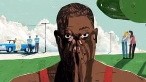 Davon Clark illustration