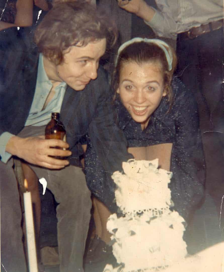 David and Chardi Christian on their wedding