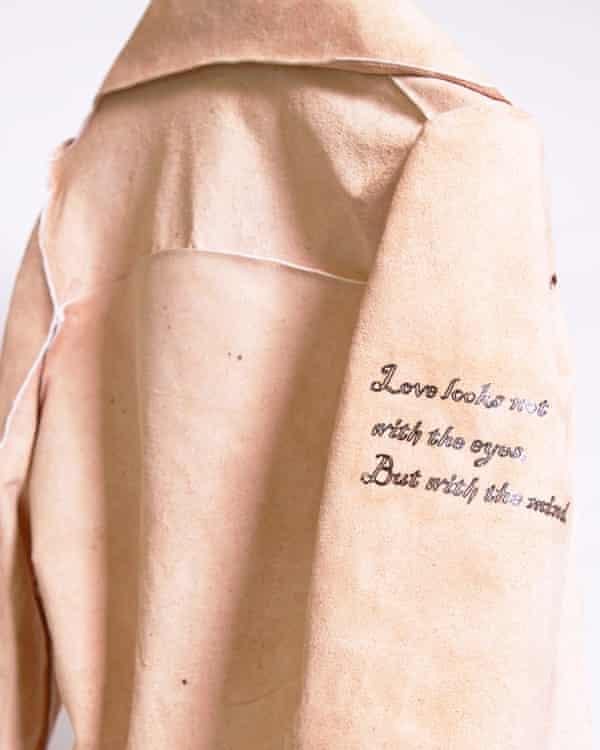 'Tattooed jacket' by Tina Gorjanc.