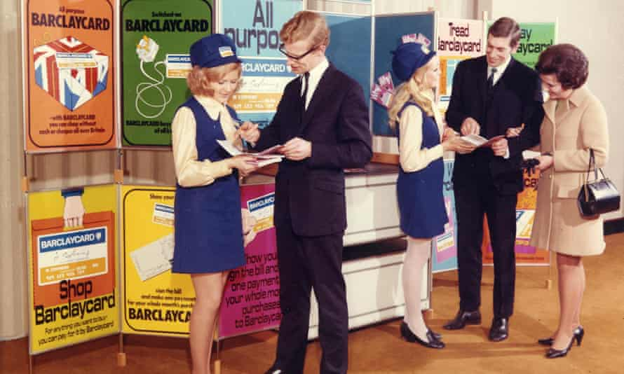 Barclays sent out a million credit cards to its customers in 1966, to 'generate widespread awareness' of the launch.