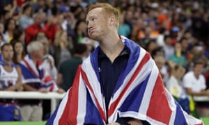 Greg Rutherford cut a frustrated figure on Saturday night