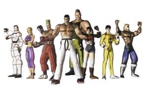 The original Tekken cast
