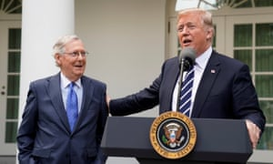 Donald Trump on Mitch McConnell: 'My relationship with this gentleman is outstanding.'