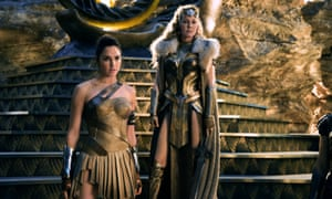 Gal Gadot and Connie Nielsen in Patty Jenkins's 2017 film Wonder Woman.
