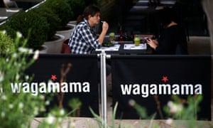 A Wagamama restaurant in London