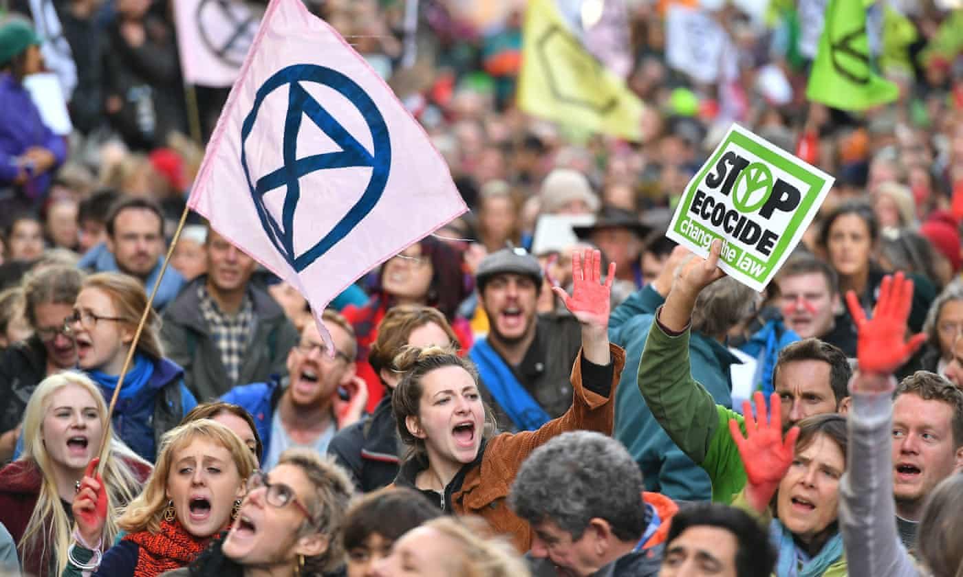 Extinction Rebellion has won in the courts. Now we must win this climate election