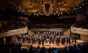 Petrenko and the Berlin Philharmonic at his first concert as chief conductor.