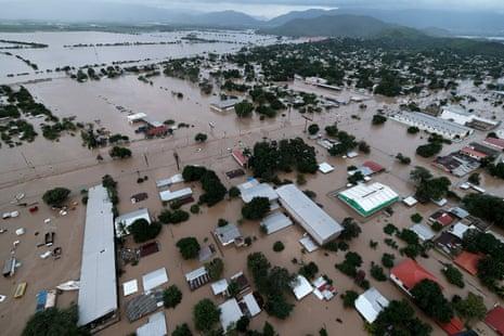 Hurricane Iota floods in Honduras