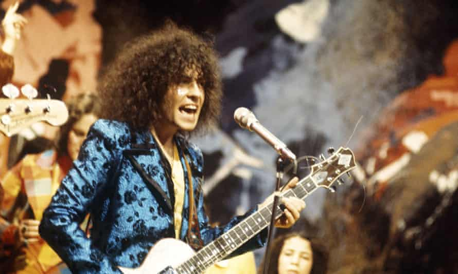 Marc Bolan and T Rex on Top of the Pops, 1972