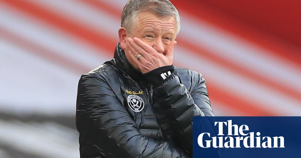 Chris Wilder set to leave Sheffield United with club facing relegation