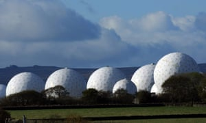 Radar domes at RAF Menwith Hill in North Yorkshire pictured in 2007