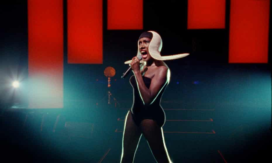 Grace Jones, from Bloodlight and Bami