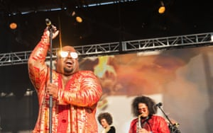 CeeLo Green on stage