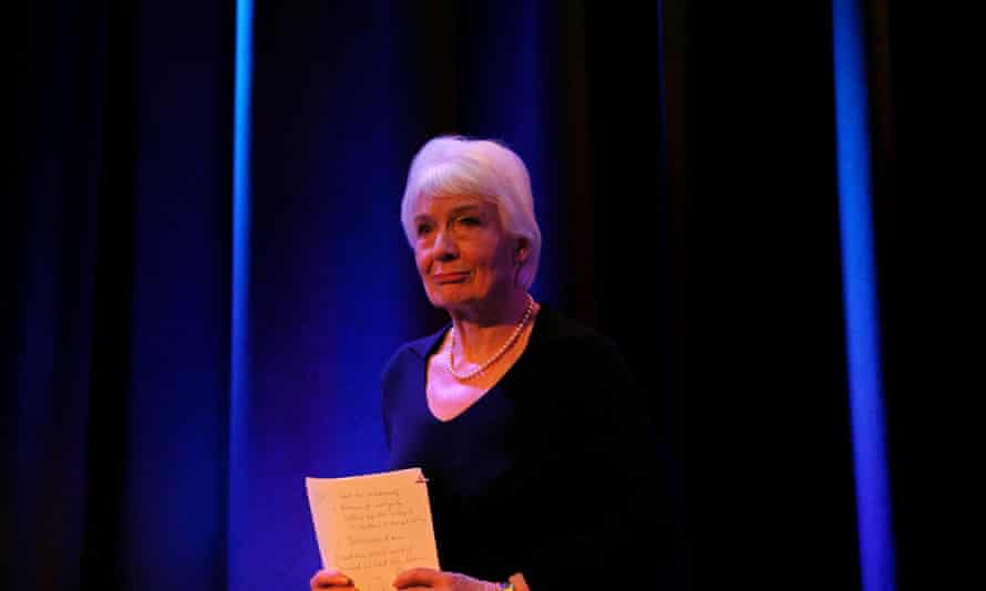 Dame Janet Smith speaking on Thursday at the publication of the review which examined BBC practices.