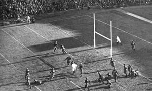 Yale playing Harvard at Soldiers Field, Boston, November 21, 1925.