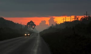 sunrise in yucatan