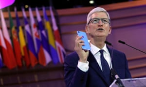 Tim Cook told an international conference of data privacy chiefs that through digital data accumulation businesses know citizens 'better than they know themselves'.