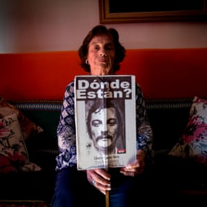 Silvia Campos, the sister of Eduardo Campos, who disappeared during the 1973-1990 military dictatorship