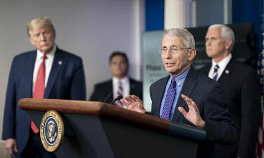 Fauci last week. He told ABC News: 'Unless we get the virus under control, the real recovery economically is not going to happen.'
