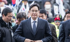 Samsung Electronics vice-chairman Lee Jae-yong has been formally arrested in South Korea's 'Choi-gate' case.