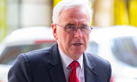 Global financial bodies not fit for purpose, John McDonnell says