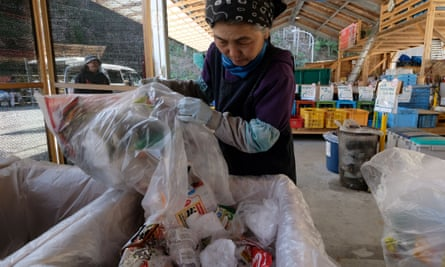 Household waste in Kamikatsu must be sorted into no fewer than 45 categories