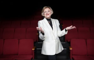 Nancye Hayes poses in the Hayes theatre